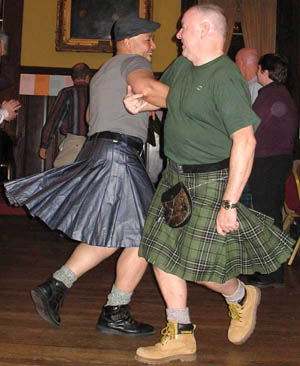 Kilted Dancers at OurStory Ceilidh
